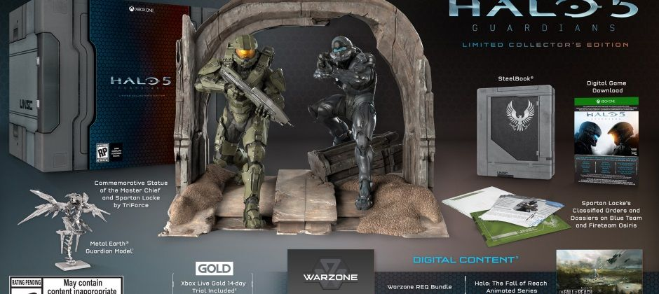 halo edition collector collectors