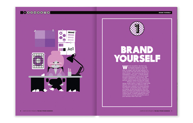 Computer Arts Presents: The Self-Promo Handbook, chapter one