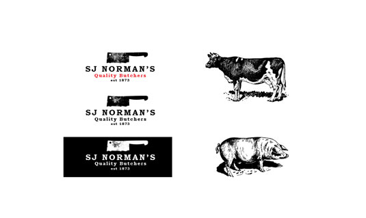 butcher branding