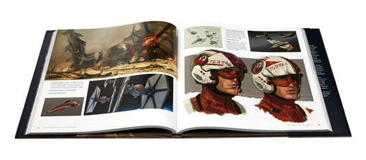 The Art of Star Wars: The Force Awakens spread