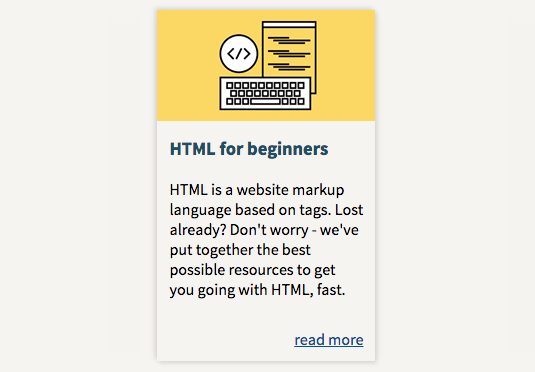 free ebooks for web designers: HTML for Beginners - Ultimate Guide