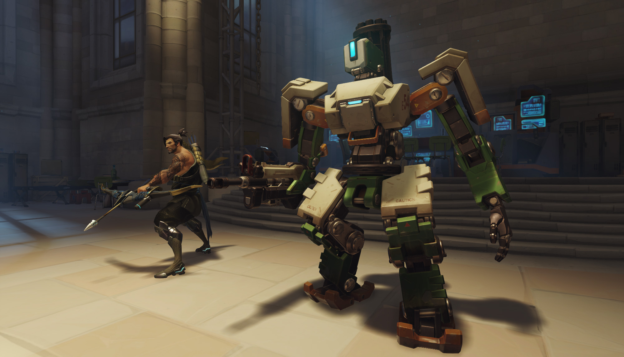 Overwatch footage features a transforming tank | PC Gamer