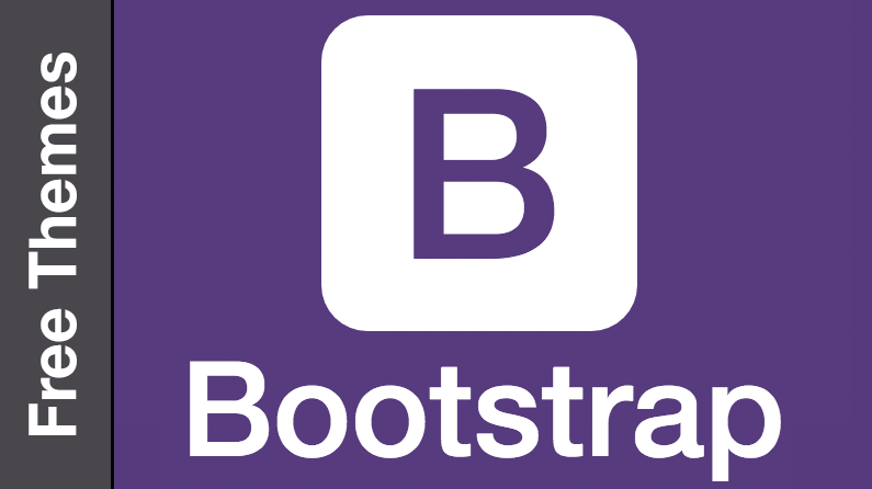 Free Bootstrap themes - opening image