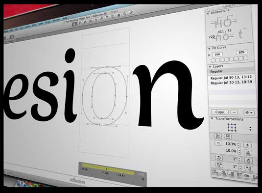 How to make your own font 10