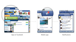 Facebook has announced it is extending Facebook Platform on mobile