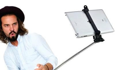 this ipad selfie stick makes us sick techradar. Black Bedroom Furniture Sets. Home Design Ideas