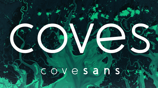 Free font: Coves