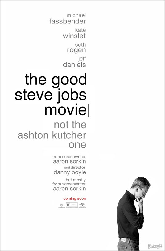 Oscars posters - The Good Steve Jobs Movie