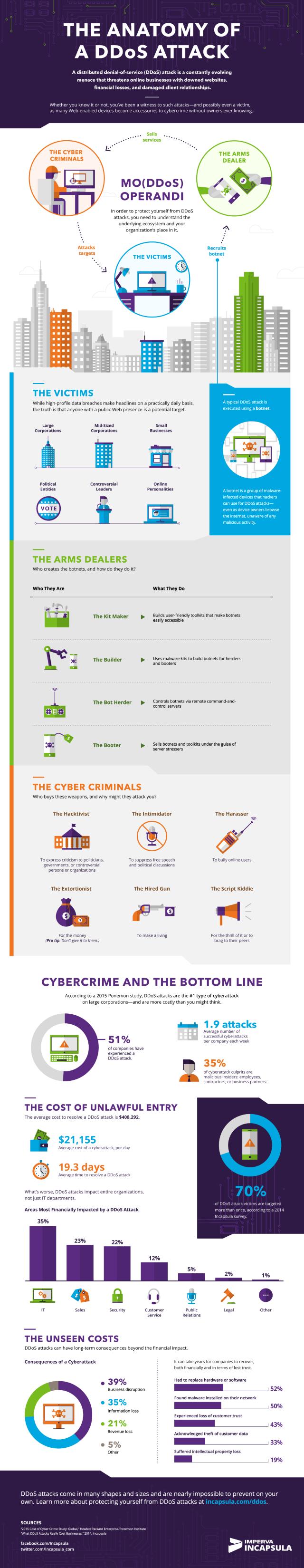 Incapsula DDoS infographic