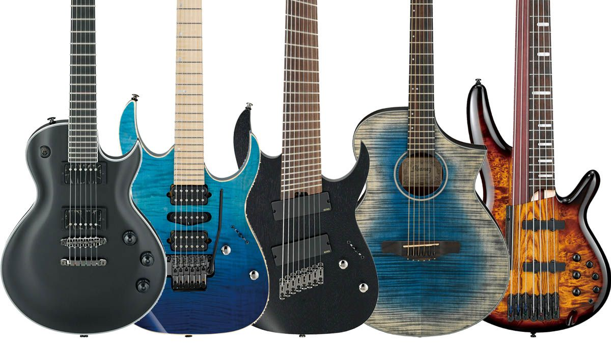 namm 2017 ibanez reveals 55 new electric acoustic and bass guitars musicradar. Black Bedroom Furniture Sets. Home Design Ideas