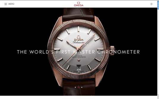 OMEGA Watches homepage