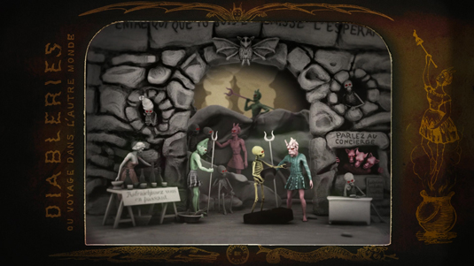 CG animation One Night in Hell