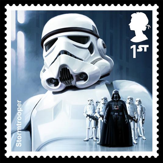 storm trooper stamp