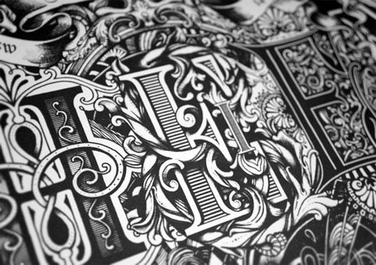 typography tribute