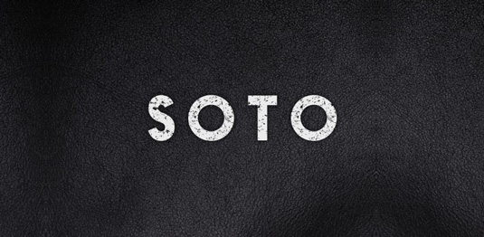 Soto typeface