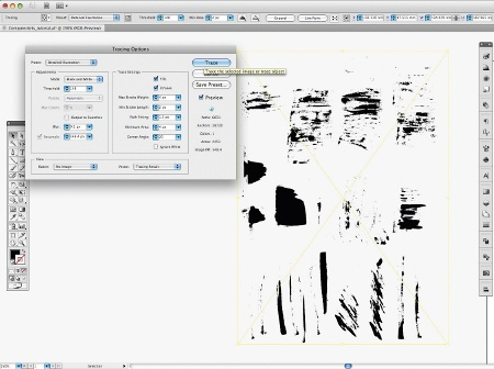 photoshop tracing darker