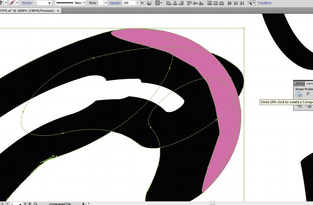 Use the Calligraphic Brush tool: step 11