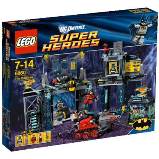 Batman merchandise: Batcave