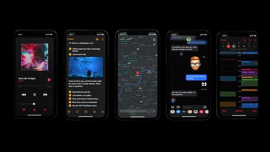 iOS 13 vs iOS 12: here