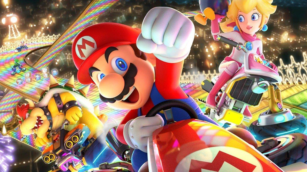 Best Nintendo Switch racing game: Mario Kart 8 Deluxe