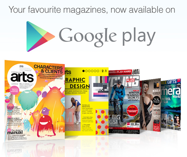 Your favourite magazines on Google Play