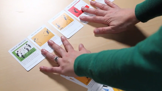 playing cards visual design
