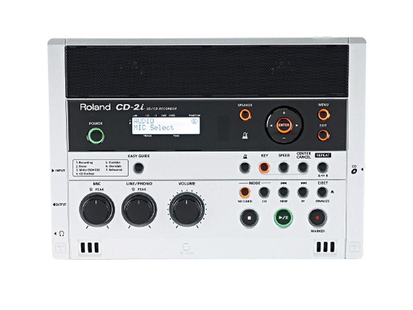 Roland Cd 2i Sd Cd Recorder Review Musicradar