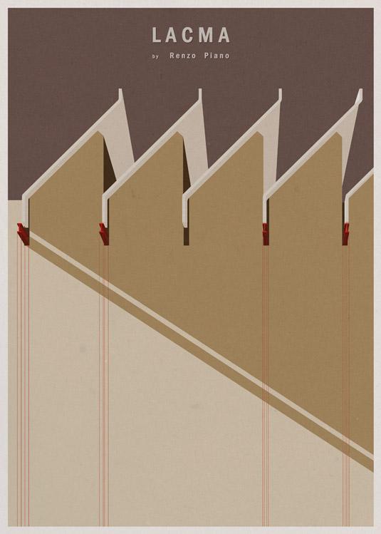 Architecture illustration - Lacma