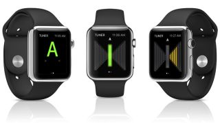 UtraTuner offers two Apple Watch display options