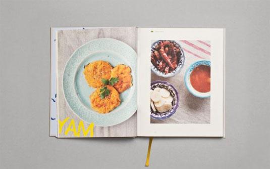 winning food book design