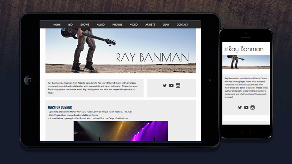 Best website builder for musicians in 2019