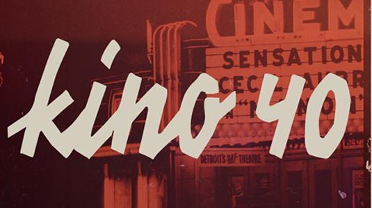 Free font: Kino