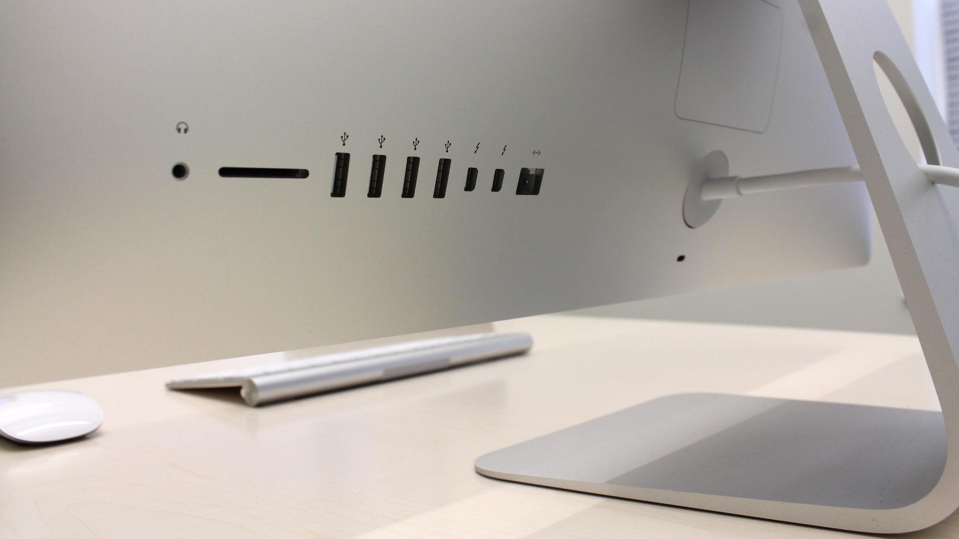 Apple iMac ports