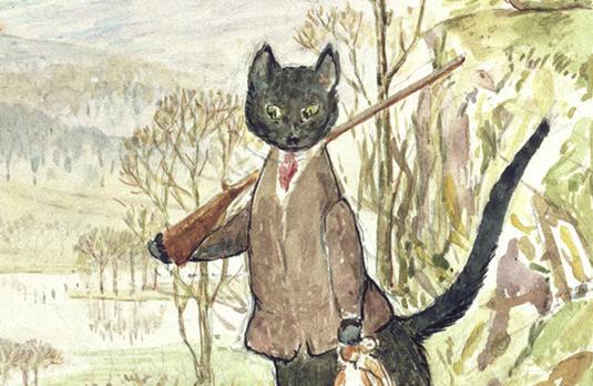 Lost Beatrix Potter book