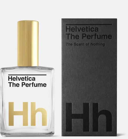Helvetica perfume