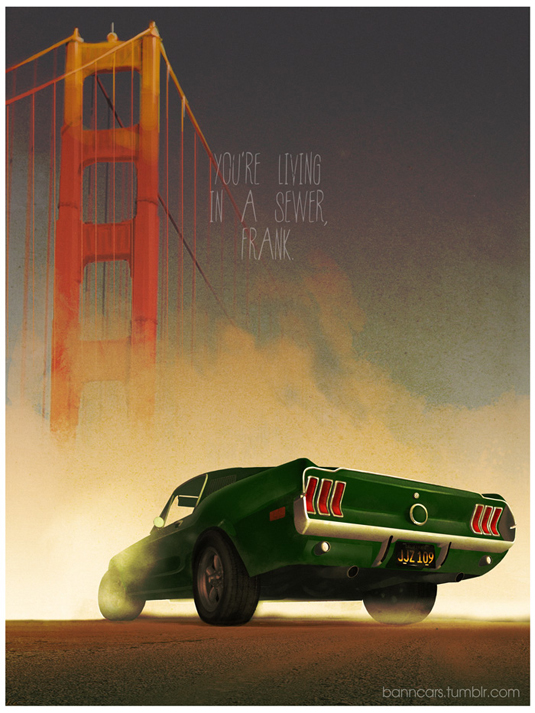 How many famous movie cars can you name in this series?