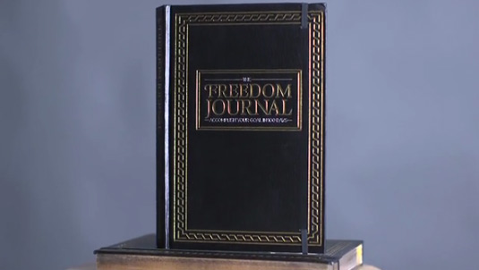 Freedom Journal cover