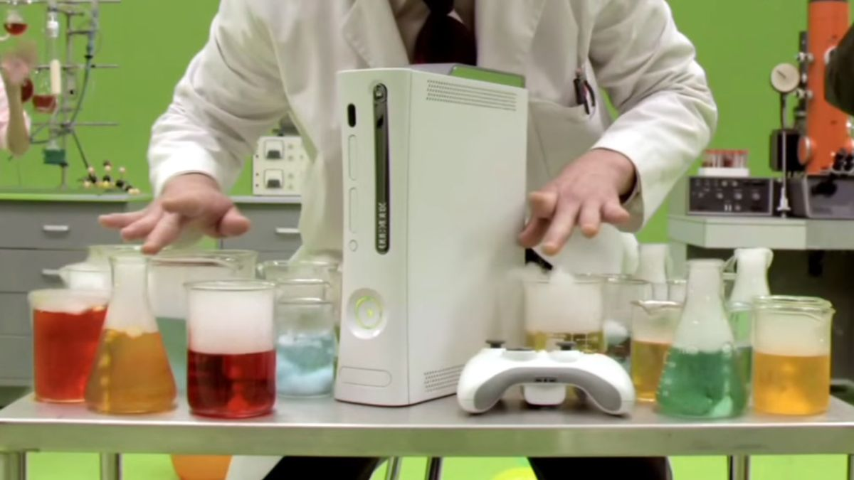 Take a nostalgic look back at Xbox 360's dashboard Blades with this super weird 2007 video