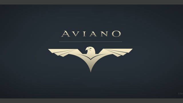 Professional fonts: Aviano
