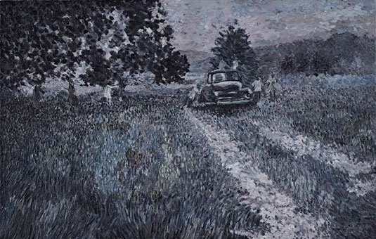 zombie paintings