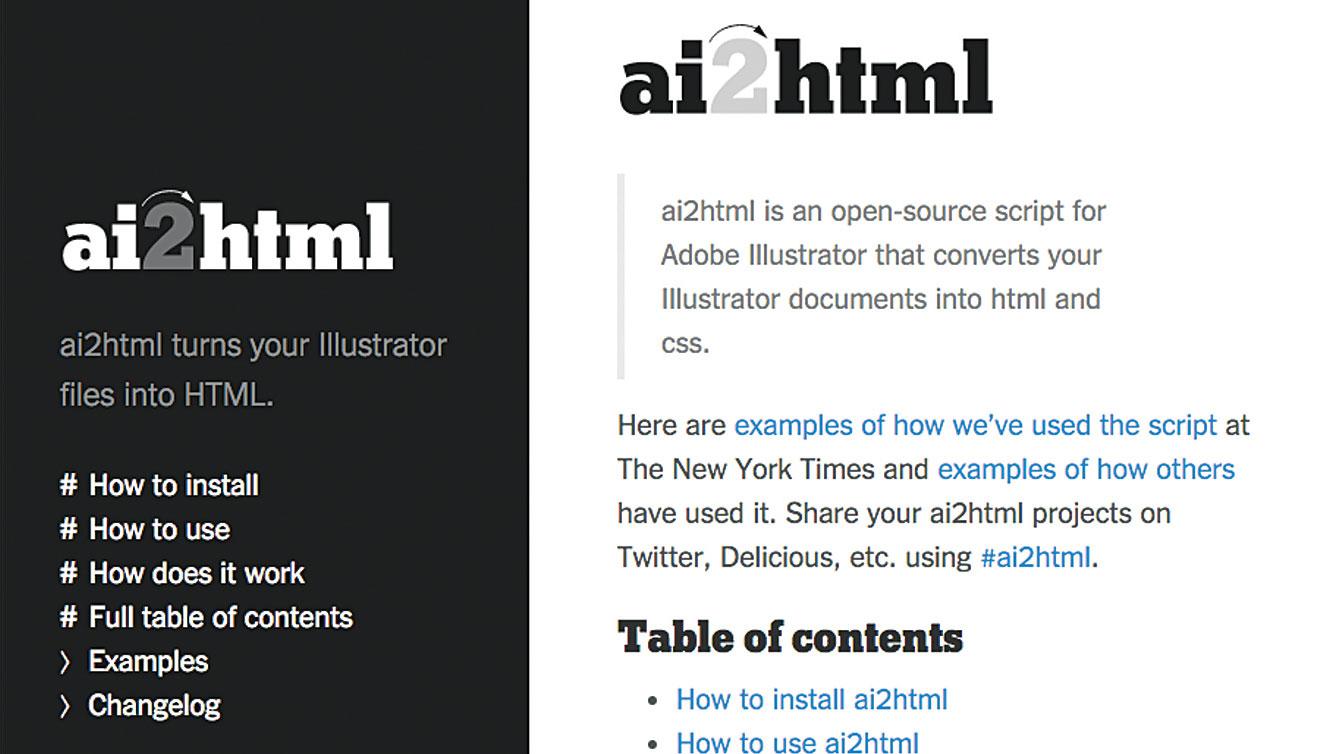 50 free web tools - ai2html