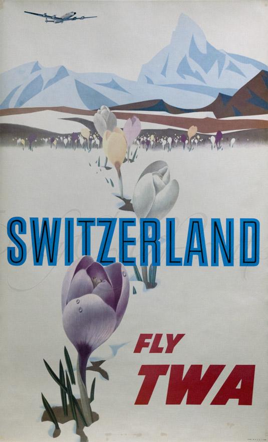 Travel poster - Switzerland