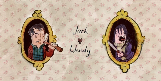 Jack and Wendy by Jim Rogers
