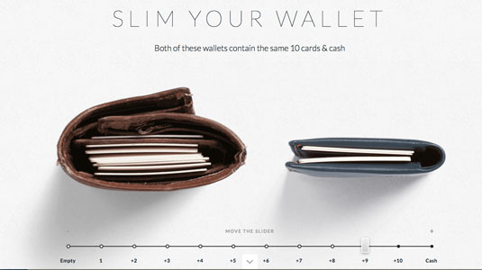 ecommerce website designs: Bellroy