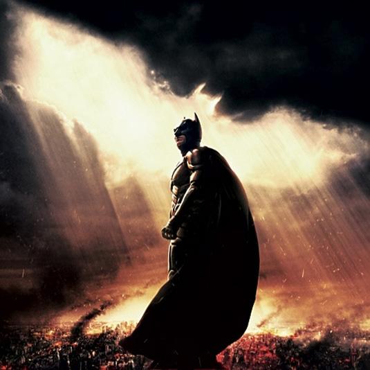 The Dark Knight Rises: Batman's new look