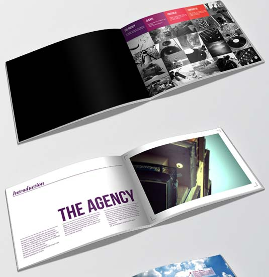 21 of the best brochure templates for designers creative for Interesting brochure designs