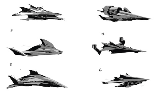Game Space Ship: step 2