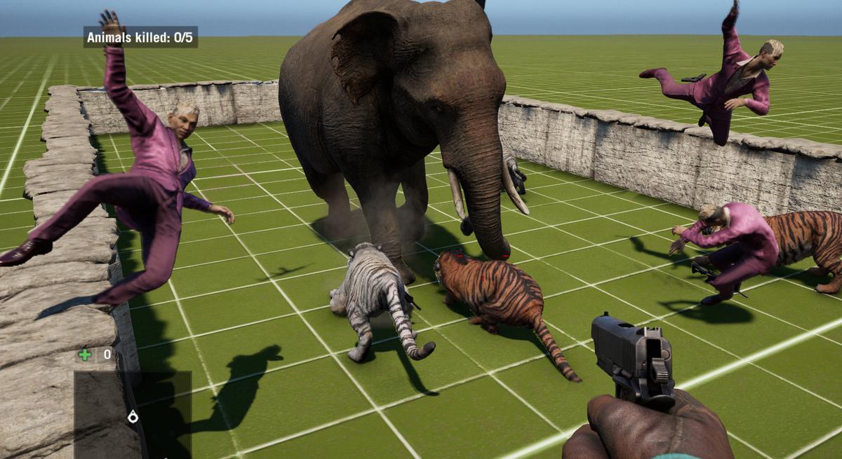 Elephant Vs. Tiger: Making Far Cry 4 Fight Itself