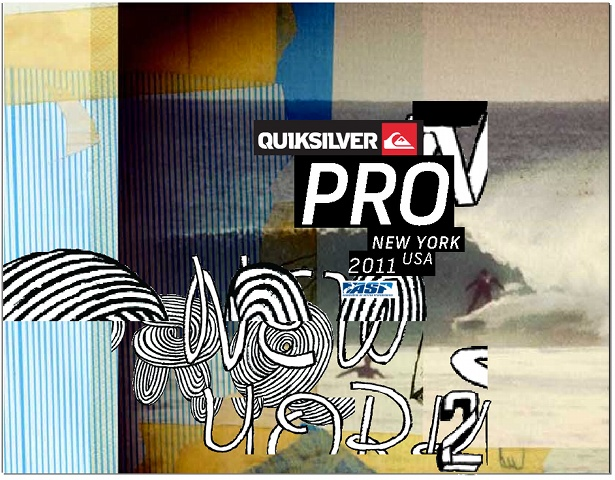 David Carson - Quicksilver Pro Surf Contest, NYC