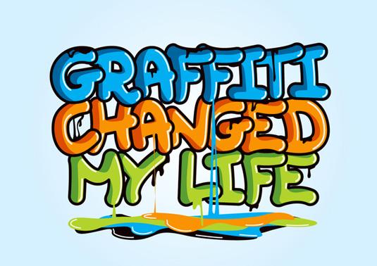 Free graffiti font: The Graffiti Font